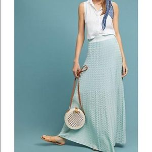 Anthropology/ Cecilia Prado maxi skirt